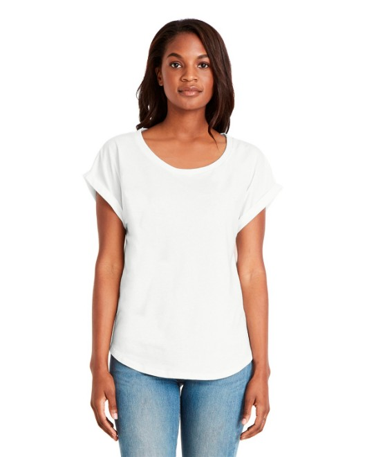 Picture of Next Level 6360 Womens Dolman with RolledSleeves