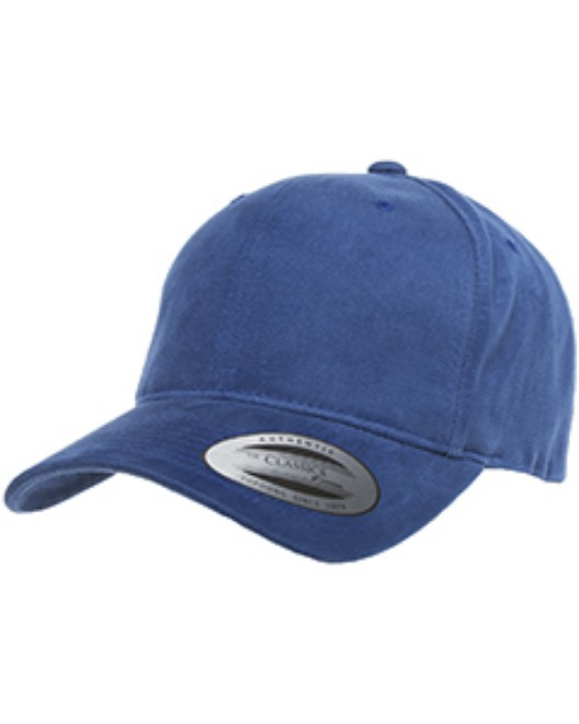 Picture of Yupoong 6363V Adult Brushed Cotton Twill Mid-Profile Cap