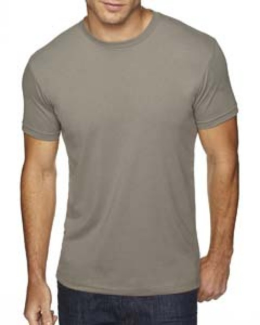 Picture of Next Level 6410 Men's Sueded Crew