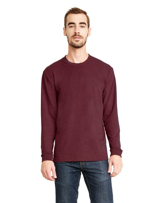 Picture of Next Level 6411 Unisex Sueded Long-Sleeve Crew