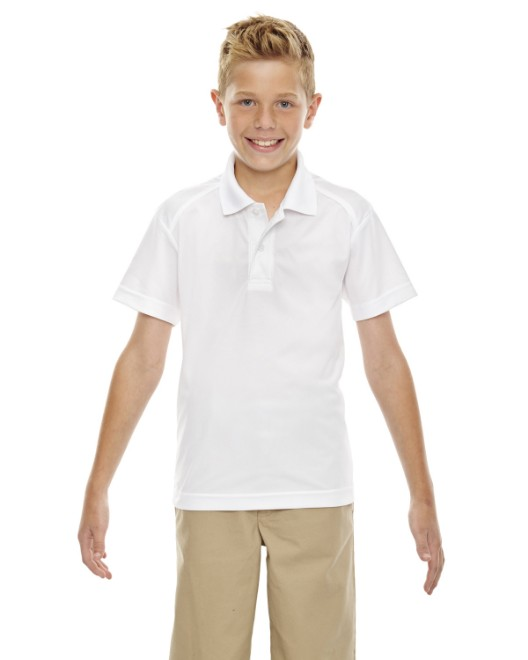 Picture of Ash City - Extreme 65108 Youth Eperformance Shield Snag Protection Short-Sleeve Polo