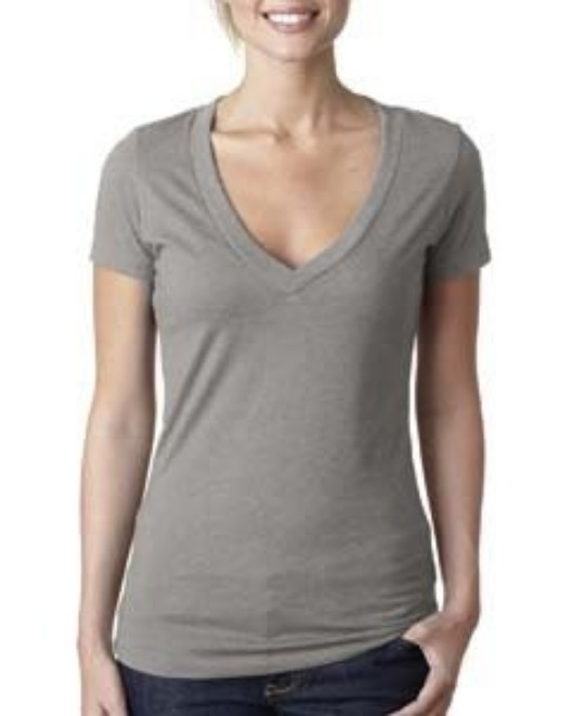 Picture of Next Level 6640 Womens CVC Deep V