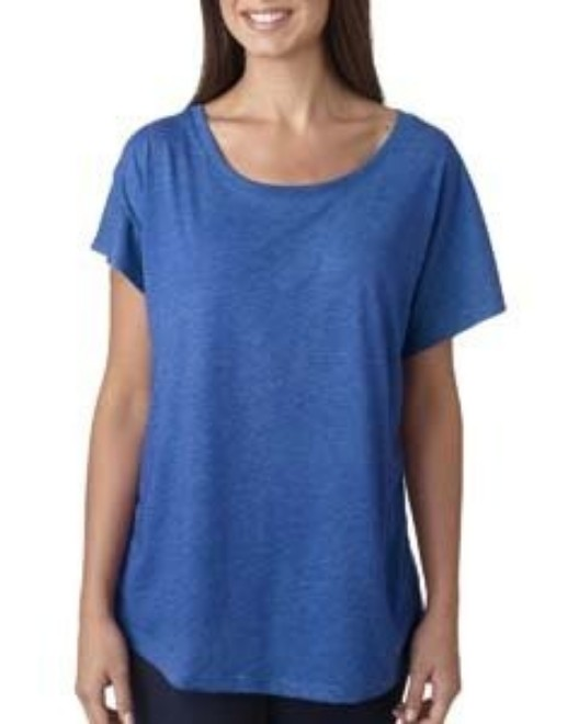 Picture of Next Level 6760 Womens Triblend Dolman