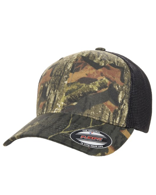 Picture of Flexfit 6911 Adult Mossy Oak Stretch Mesh Cap