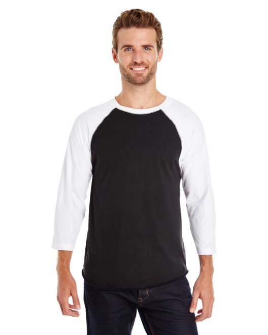 Picture of LAT 6930 Men's Baseball Fine Jersey T-Shirt