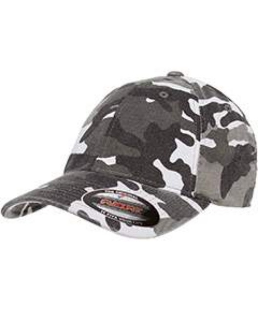 Picture of Flexfit 6977CA Adult Cotton Camouflage Cap