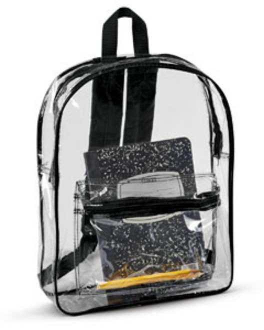 Picture of Liberty Bags 7010 Clear Backpack