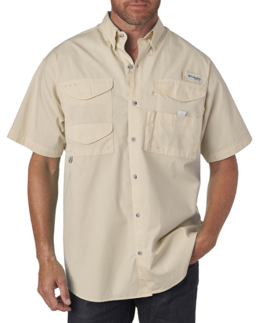 Picture of Columbia 7130 Men's Bonehead Short-Sleeve Shirt