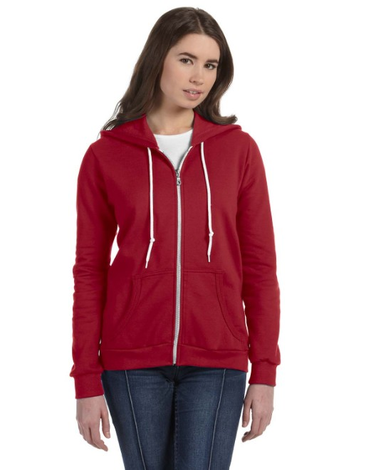 Picture of Anvil 71600L Womens Full-Zip Hooded Fleece