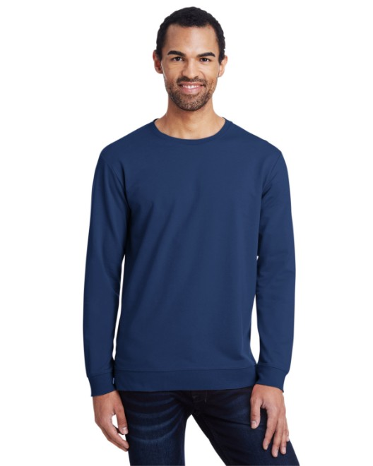 Picture of Anvil 73000 Unisex Light Terry Crew