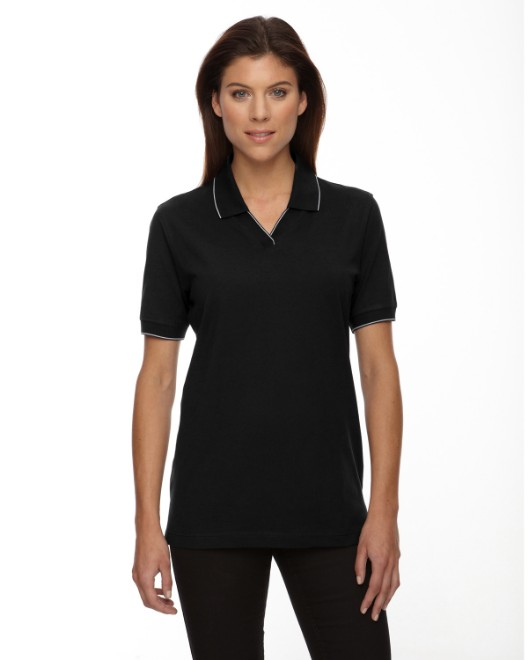 Picture of Ash City - Extreme 75009 Womens Cotton Jersey Polo
