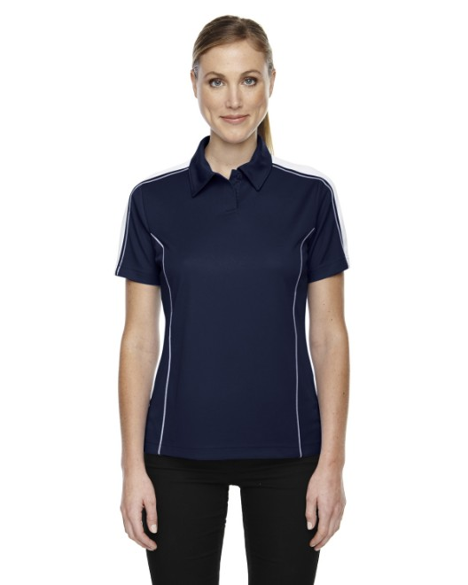 Picture of Ash City - Extreme 75052 Womens Eperformance Pique Colorblock Polo