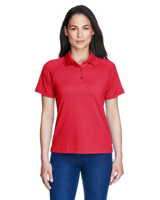 Picture of Ash City - Extreme 75056 Womens Eperformance Ottoman Textured Polo