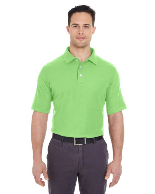 Picture of UltraClub 7510 Men's Platinum Honeycomb Pique Polo