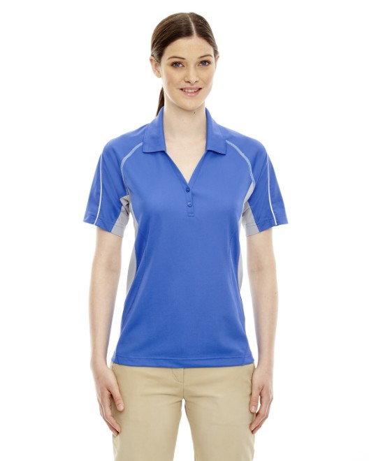 Picture of Ash City - Extreme 75110 Womens Eperformance Parallel Snag Protection Polo with Piping
