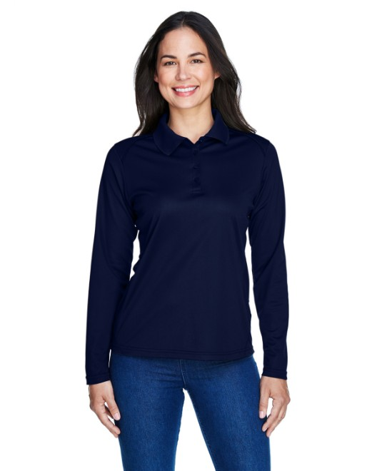 Picture of Ash City - Extreme 75111 Womens Eperformance Snag Protection Long-Sleeve Polo