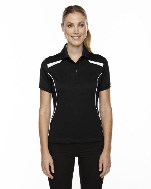 Picture of Ash City - Extreme 75112 Womens Eperformance' Tempo Recycled Polyester Performance Textured Polo