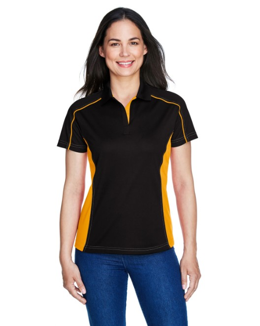 Picture of Ash City - Extreme 75113 Womens Eperformance Fuse Snag Protection Plus Colorblock Polo