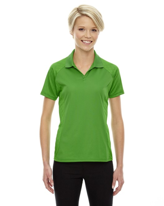 Picture of Ash City - Extreme 75116 Womens Eperformance Stride Jacquard Polo