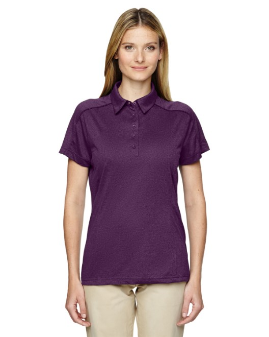 Picture of Ash City - Extreme 75117 Womens Eperformance Fluid Melange Polo
