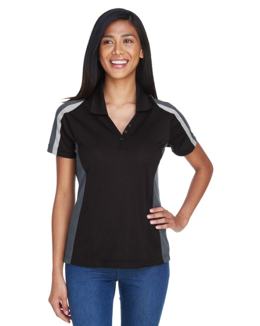 Picture of Ash City - Extreme 75119 Womens Eperformance Strike Colorblock Snag Protection Polo