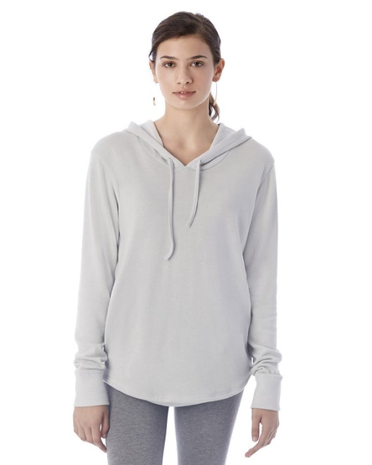 Picture of Alternative 7594B Womens Cozy Vintage Heavy Knit Pullover Hoodie