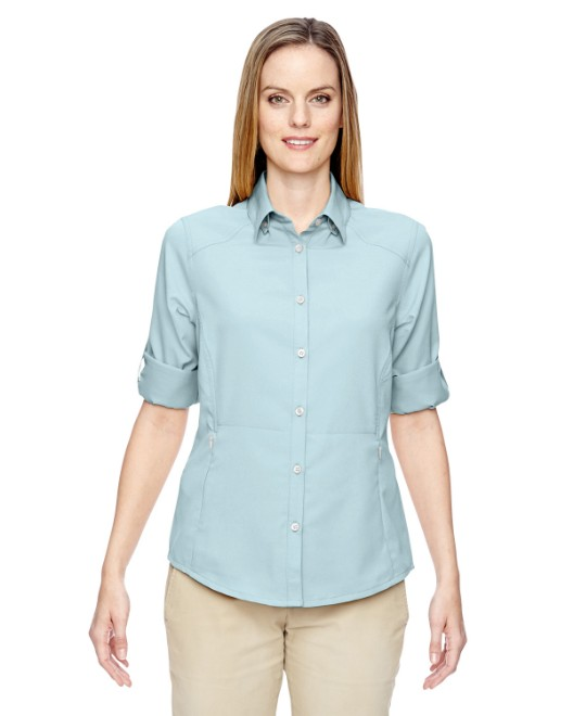 Picture of Ash City - North End 77047 Womens Excursion Concourse Performance Shirt