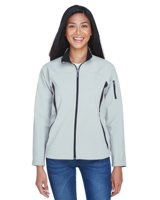 Picture of Ash City - North End 78034 Womens Three-Layer Fleece Bonded Performance Soft Shell Jacket