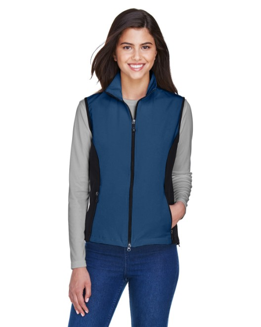 Picture of Ash City - North End 78050 Womens Three-Layer Light Bonded Performance Soft Shell Vest