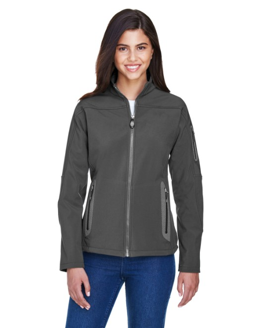 Picture of Ash City - North End 78060 Womens Three-Layer Fleece Bonded Soft Shell Technical Jacket