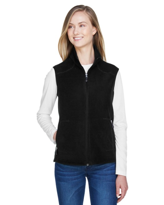 Picture of Ash City - North End 78173 Womens Voyage Fleece Vest