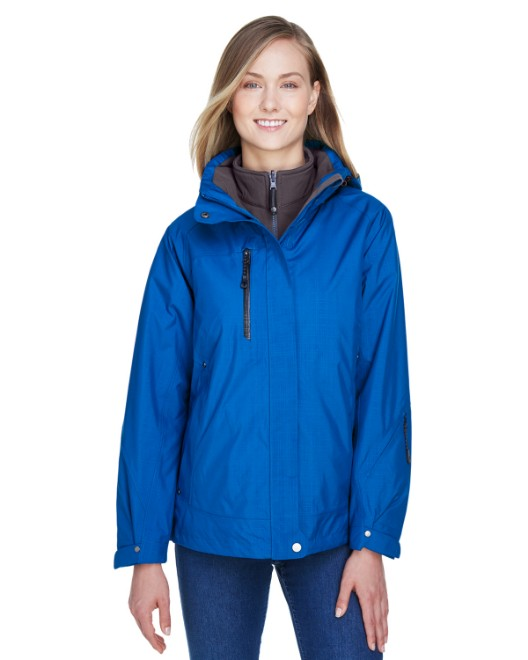 Picture of Ash City - North End 78178 Womens Caprice 3-in-1 Jacket with Soft Shell Liner