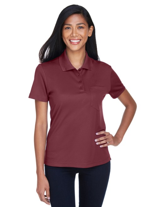 Picture of Ash City - Core 365 78181P Womens Origin Performance Pique Polo with Pocket