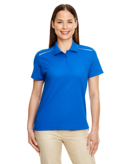 Picture of Ash City - Core 365 78181R Womens Radiant Performance Pique Polo with Reflective Piping