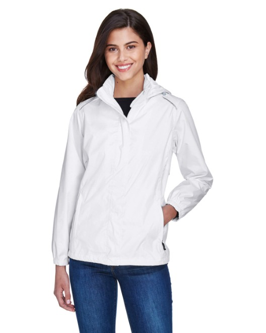 Picture of Ash City - Core 365 78185 Womens Climate Seam-Sealed Lightweight Variegated Ripstop Jacket