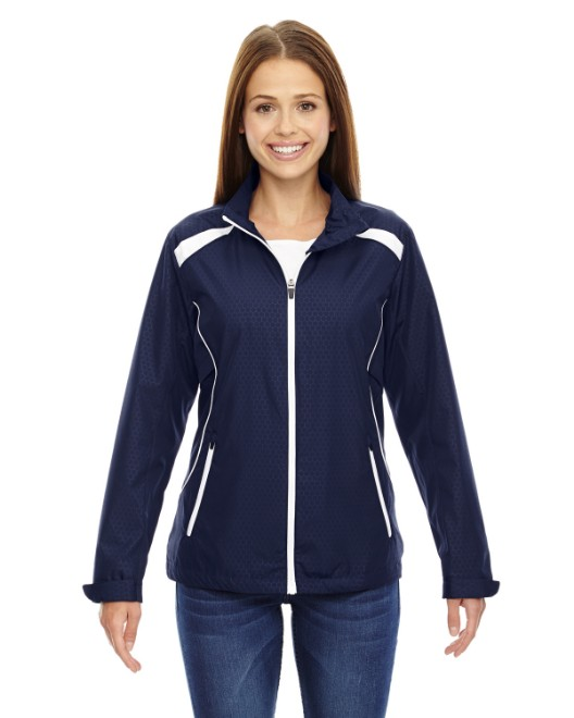 Picture of Ash City - North End 78188 Womens Tempo Lightweight Recycled Polyester Jacket with Embossed Print