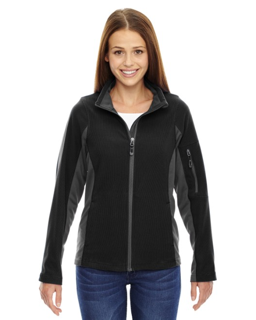Picture of Ash City - North End 78198 Womens Generate Textured Fleece Jacket