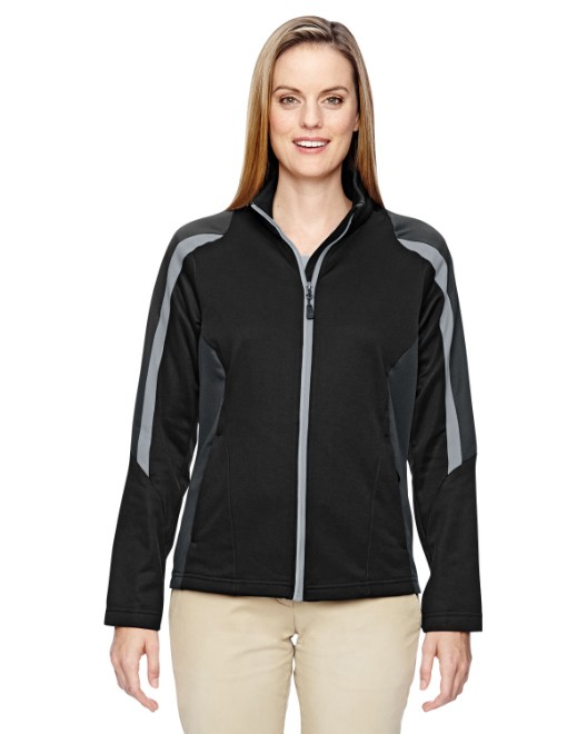 Picture of Ash City - North End 78201 Womens Strike Colorblock Fleece Jacket