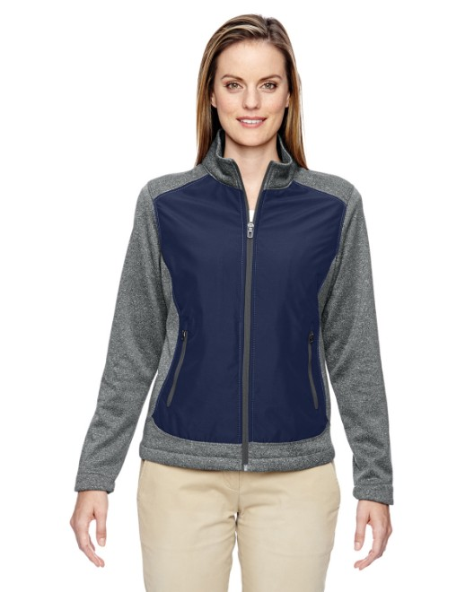 Picture of Ash City - North End 78202 Womens Victory Hybrid Performance Fleece Jacket