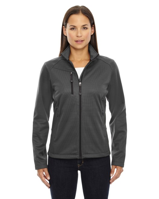 Picture of Ash City - North End 78213 Womens Trace Printed Fleece Jacket