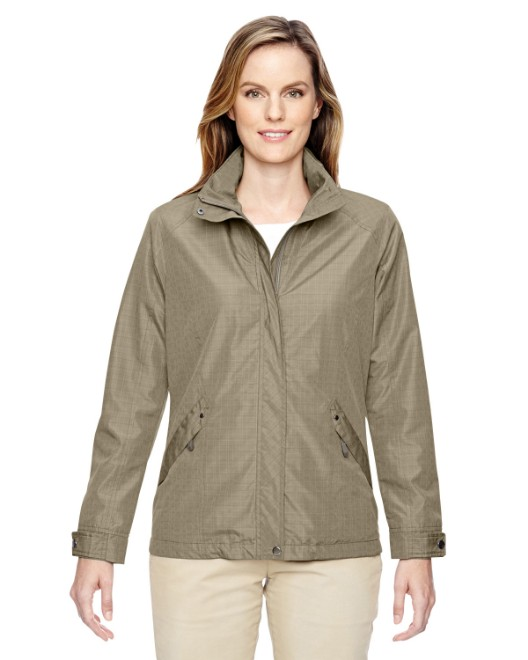 Picture of Ash City - North End 78216 Womens Excursion Transcon Lightweight Jacket with Pattern