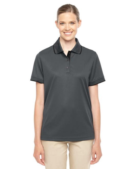 Picture of Ash City - Core 365 78222 Womens Motive Performance Pique Polo with Tipped Collar