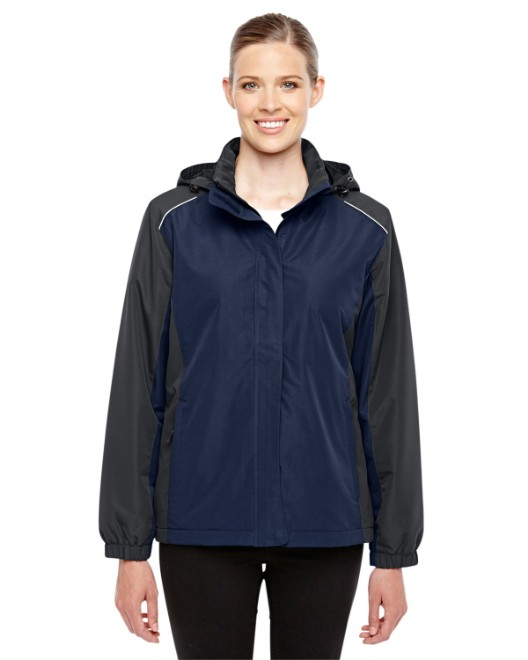 Picture of Ash City - Core 365 78225 Womens Inspire Colorblock All-Season Jacket