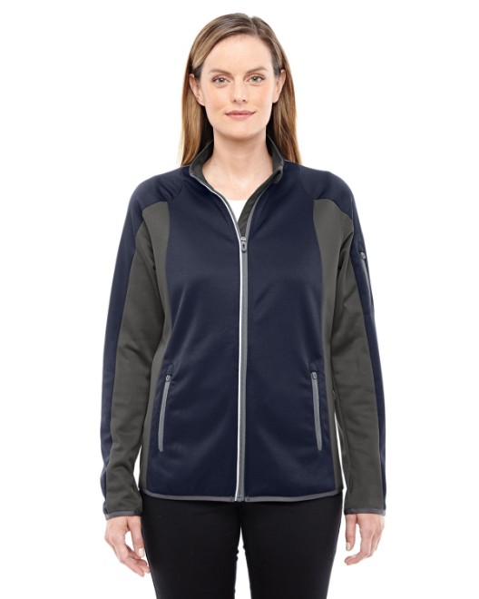 Picture of Ash City - North End 78230 Womens Motion Interactive Colorblock Performance Fleece Jacket
