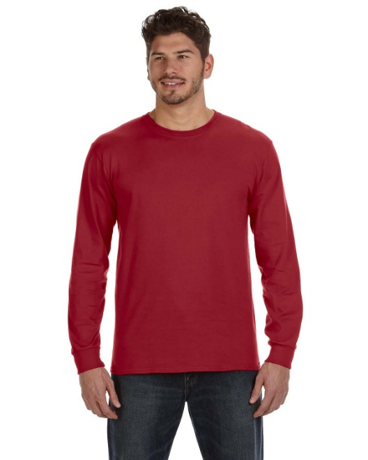 Picture of Anvil 784AN Adult Midweight Long-Sleeve T-Shirt