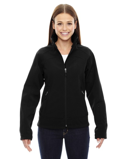 Picture of Ash City - North End 78604 Womens Three-Layer Light Bonded Soft Shell Jacket