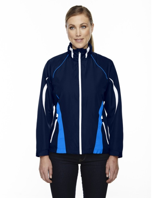 Picture of Ash City - North End 78644 Womens Impact Active Lite Colorblock Jacket