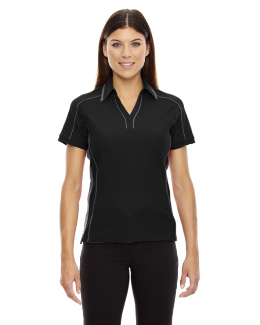 Picture of Ash City - North End 78648 Womens Sonic Performance Polyester Pique Polo