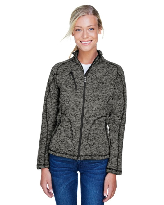 Picture of Ash City - North End 78669 Womens Peak Sweater Fleece Jacket