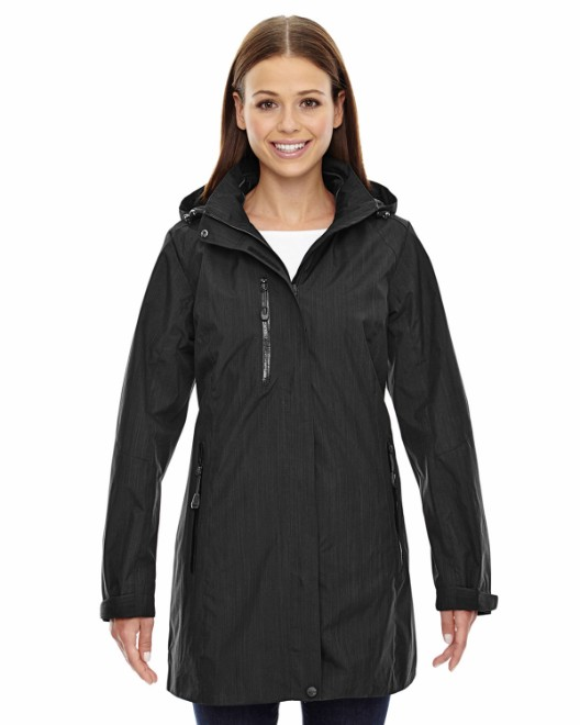 Picture of Ash City - North End 78670 Womens Metropolitan Lightweight City Length Jacket